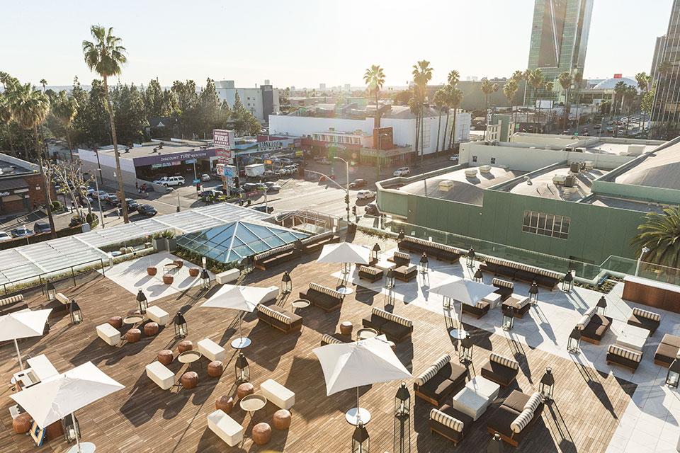 Neuehouse Hollywood Rooftop Cinema Club Outdoor Movie