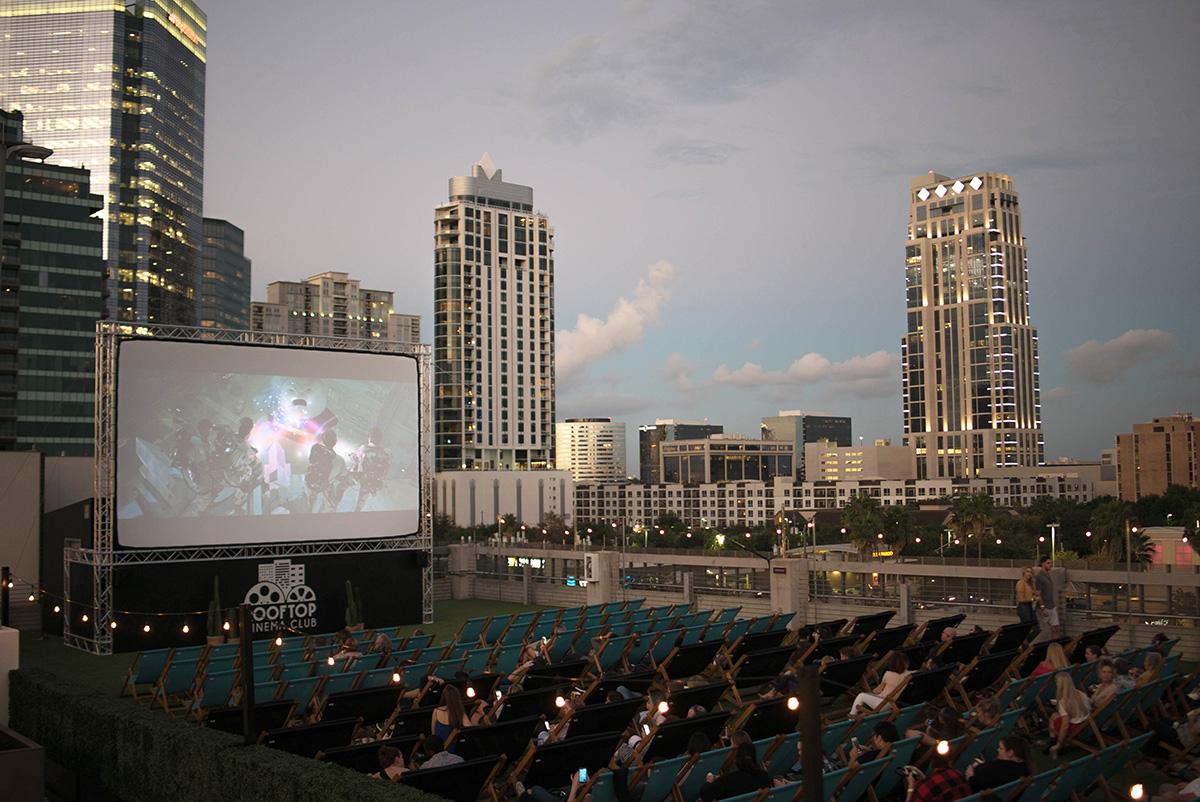 Houston Rooftop Cinema Club
