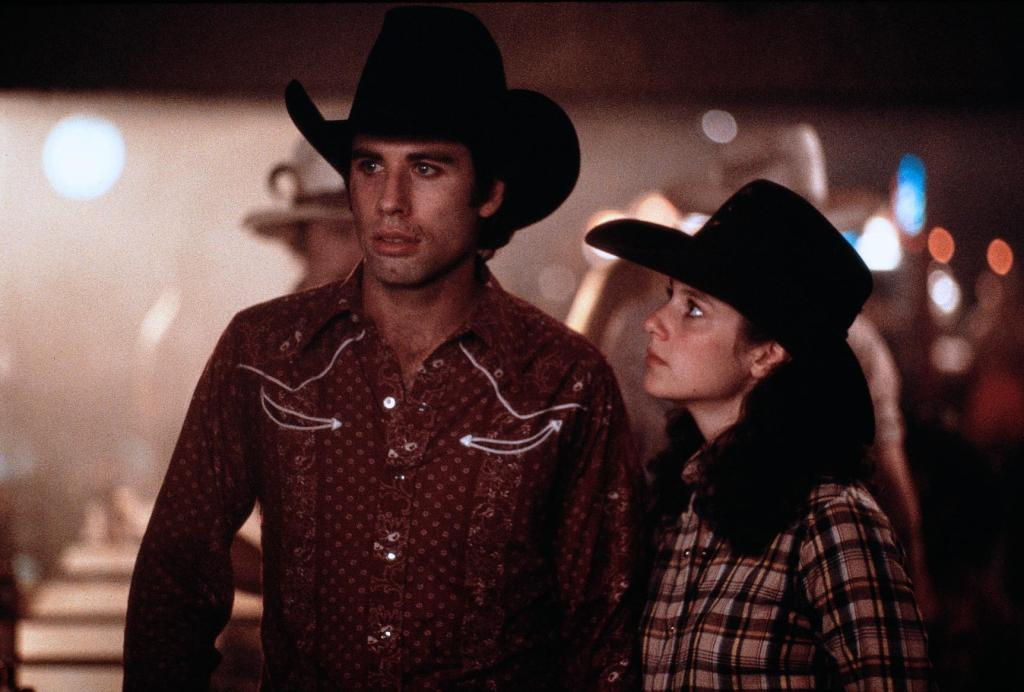 Young John Travolta Urban Cowboy